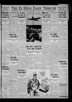 Primary view of The El Reno Daily Tribune (El Reno, Okla.), Vol. 40, No. 143, Ed. 1 Thursday, July 16, 1931