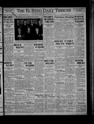 Primary view of object titled 'The El Reno Daily Tribune (El Reno, Okla.), Vol. 44, No. 295, Ed. 1 Tuesday, February 11, 1936'.