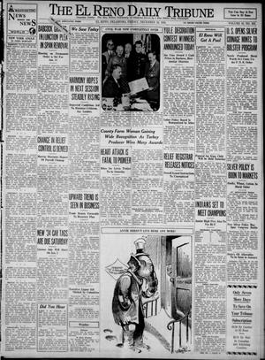 Primary view of object titled 'The El Reno Daily Tribune (El Reno, Okla.), Vol. 42, No. 253, Ed. 1 Friday, December 22, 1933'.