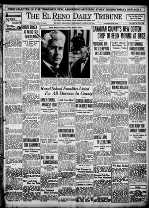 Primary view of object titled 'The El Reno Daily Tribune (El Reno, Okla.), Vol. 43, No. 118, Ed. 1 Wednesday, August 22, 1934'.