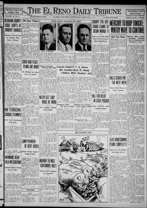 Primary view of object titled 'The El Reno Daily Tribune (El Reno, Okla.), Vol. 42, No. 6, Ed. 1 Wednesday, February 8, 1933'.
