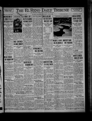 Primary view of object titled 'The El Reno Daily Tribune (El Reno, Okla.), Vol. 44, No. 296, Ed. 1 Wednesday, February 12, 1936'.