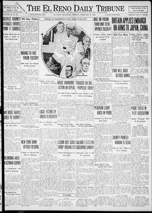 Primary view of The El Reno Daily Tribune (El Reno, Okla.), Vol. 42, No. 22, Ed. 1 Monday, February 27, 1933