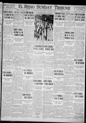 Primary view of El Reno Sunday Tribune (El Reno, Okla.), Vol. 41, No. 208, Ed. 1 Sunday, October 16, 1932