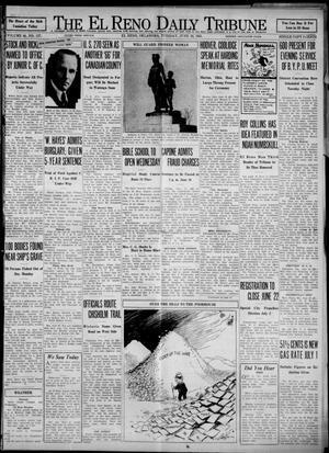 Primary view of The El Reno Daily Tribune (El Reno, Okla.), Vol. 40, No. 117, Ed. 1 Tuesday, June 16, 1931