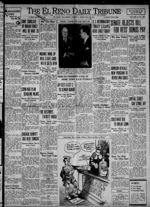 Primary view of object titled 'The El Reno Daily Tribune (El Reno, Okla.), Vol. 42, No. 308, Ed. 1 Tuesday, February 27, 1934'.