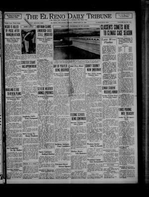 Primary view of object titled 'The El Reno Daily Tribune (El Reno, Okla.), Vol. 44, No. 304, Ed. 1 Friday, February 21, 1936'.