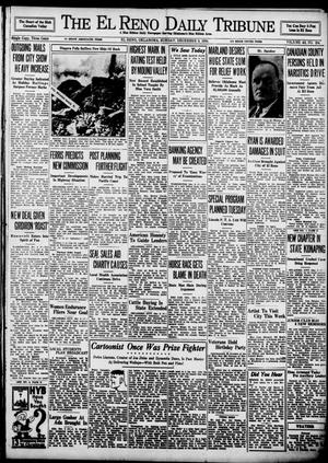 Primary view of object titled 'The El Reno Daily Tribune (El Reno, Okla.), Vol. 43, No. 204, Ed. 1 Sunday, December 9, 1934'.