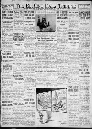 Primary view of The El Reno Daily Tribune (El Reno, Okla.), Vol. 41, No. 182, Ed. 1 Thursday, September 1, 1932