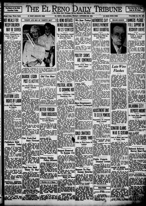 Primary view of object titled 'The El Reno Daily Tribune (El Reno, Okla.), Vol. 43, No. 167, Ed. 1 Friday, October 26, 1934'.