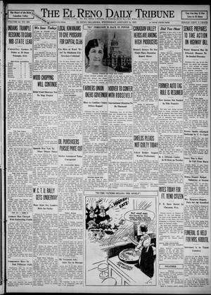 Primary view of object titled 'The El Reno Daily Tribune (El Reno, Okla.), Vol. 41, No. 289, Ed. 1 Wednesday, January 18, 1933'.
