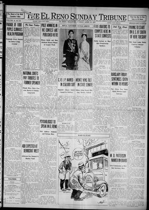 Primary view of The El Reno Sunday Tribune (El Reno, Okla.), Vol. 40, No. 60, Ed. 1 Sunday, April 12, 1931