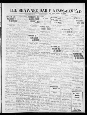 Primary view of object titled 'The Shawnee Daily News-Herald (Shawnee, Okla.), Vol. 17, No. 121, Ed. 1 Friday, December 27, 1912'.