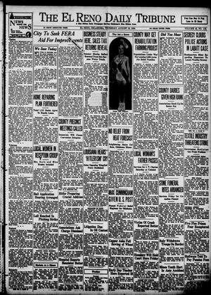 Primary view of object titled 'The El Reno Daily Tribune (El Reno, Okla.), Vol. 43, No. 113, Ed. 1 Thursday, August 16, 1934'.