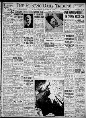 Primary view of object titled 'The El Reno Daily Tribune (El Reno, Okla.), Vol. 42, No. 265, Ed. 1 Sunday, January 7, 1934'.