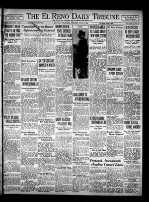 Primary view of object titled 'The El Reno Daily Tribune (El Reno, Okla.), Vol. 44, No. 71, Ed. 1 Tuesday, July 9, 1935'.