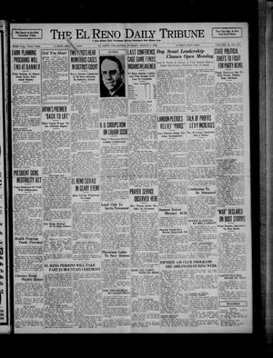 Primary view of object titled 'The El Reno Daily Tribune (El Reno, Okla.), Vol. 44, No. 311, Ed. 1 Sunday, March 1, 1936'.