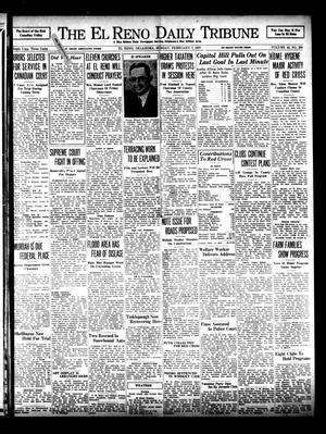 Primary view of object titled 'The El Reno Daily Tribune (El Reno, Okla.), Vol. 45, No. 290, Ed. 1 Sunday, February 7, 1937'.
