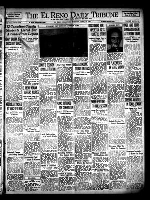 Primary view of object titled 'The El Reno Daily Tribune (El Reno, Okla.), Vol. 46, No. 34, Ed. 1 Tuesday, April 13, 1937'.