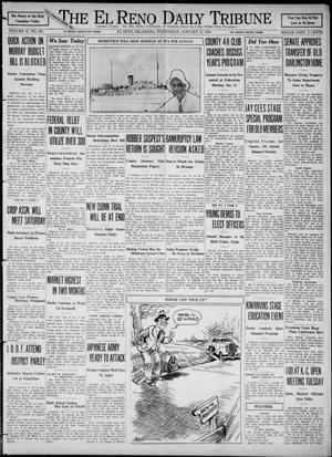 Primary view of object titled 'The El Reno Daily Tribune (El Reno, Okla.), Vol. 41, No. 283, Ed. 1 Wednesday, January 11, 1933'.