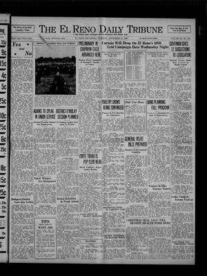 Primary view of object titled 'The El Reno Daily Tribune (El Reno, Okla.), Vol. 45, No. 227, Ed. 1 Tuesday, November 24, 1936'.