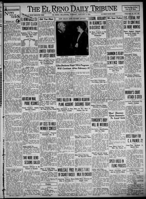 Primary view of object titled 'The El Reno Daily Tribune (El Reno, Okla.), Vol. 42, No. 267, Ed. 1 Tuesday, January 9, 1934'.