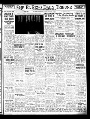 Primary view of object titled 'The El Reno Daily Tribune (El Reno, Okla.), Vol. 45, No. 272, Ed. 1 Sunday, January 17, 1937'.