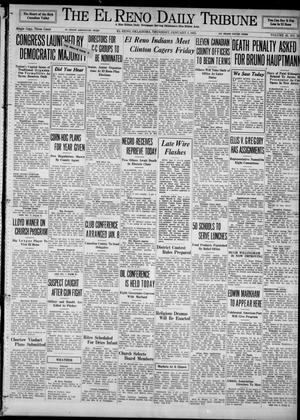 Primary view of object titled 'The El Reno Daily Tribune (El Reno, Okla.), Vol. 43, No. 223, Ed. 1 Thursday, January 3, 1935'.