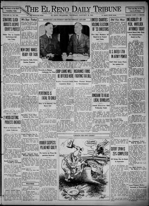Primary view of object titled 'The El Reno Daily Tribune (El Reno, Okla.), Vol. 41, No. 284, Ed. 1 Thursday, January 12, 1933'.
