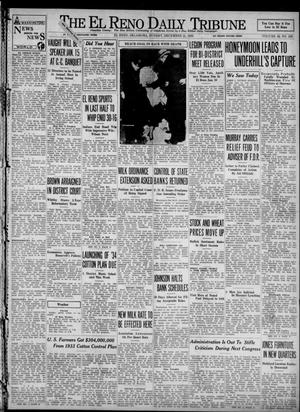 Primary view of object titled 'The El Reno Daily Tribune (El Reno, Okla.), Vol. 42, No. 259, Ed. 1 Sunday, December 31, 1933'.