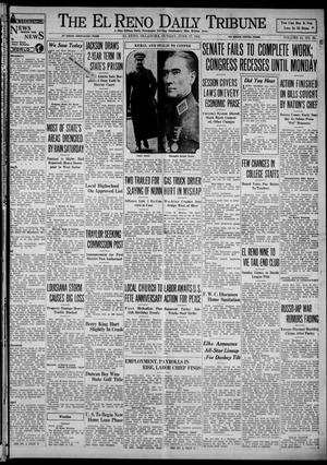 Primary view of object titled 'The El Reno Daily Tribune (El Reno, Okla.), Vol. 43, No. 60, Ed. 1 Sunday, June 17, 1934'.