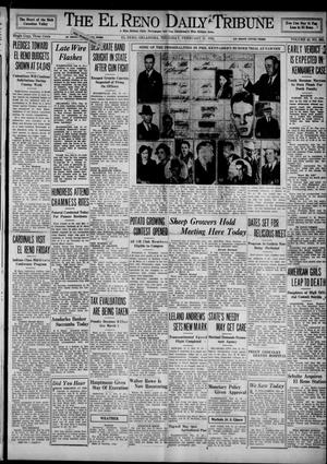 Primary view of object titled 'The El Reno Daily Tribune (El Reno, Okla.), Vol. 43, No. 265, Ed. 1 Thursday, February 21, 1935'.