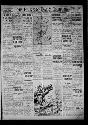 Primary view of object titled 'The El Reno Daily Tribune (El Reno, Okla.), Vol. 40, No. 202, Ed. 1 Thursday, September 24, 1931'.