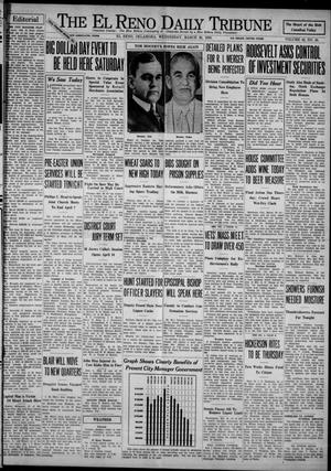 Primary view of object titled 'The El Reno Daily Tribune (El Reno, Okla.), Vol. 42, No. 48, Ed. 1 Wednesday, March 29, 1933'.