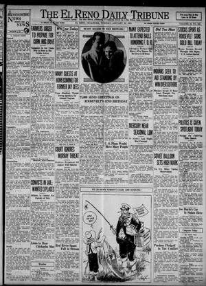 Primary view of object titled 'The El Reno Daily Tribune (El Reno, Okla.), Vol. 42, No. 284, Ed. 1 Tuesday, January 30, 1934'.
