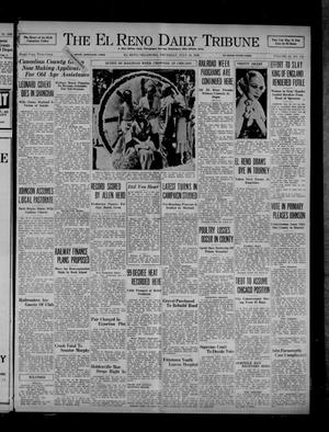 Primary view of object titled 'The El Reno Daily Tribune (El Reno, Okla.), Vol. 45, No. 116, Ed. 1 Thursday, July 16, 1936'.