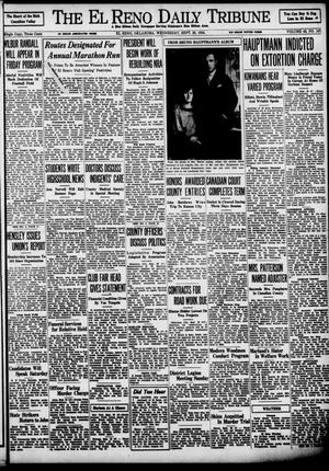 Primary view of object titled 'The El Reno Daily Tribune (El Reno, Okla.), Vol. 43, No. 147, Ed. 1 Wednesday, September 26, 1934'.