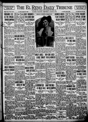 Primary view of object titled 'The El Reno Daily Tribune (El Reno, Okla.), Vol. 43, No. 124, Ed. 1 Wednesday, August 29, 1934'.