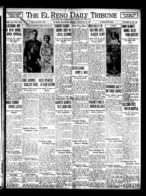 Primary view of object titled 'The El Reno Daily Tribune (El Reno, Okla.), Vol. 45, No. 302, Ed. 1 Sunday, February 21, 1937'.