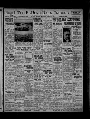 Primary view of object titled 'The El Reno Daily Tribune (El Reno, Okla.), Vol. 44, No. 278, Ed. 1 Wednesday, January 22, 1936'.