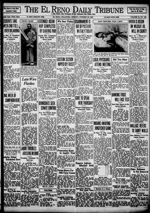 Primary view of object titled 'The El Reno Daily Tribune (El Reno, Okla.), Vol. 43, No. 169, Ed. 1 Monday, October 29, 1934'.