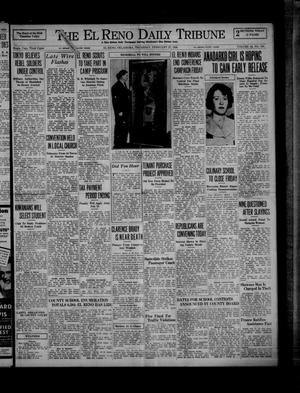 Primary view of object titled 'The El Reno Daily Tribune (El Reno, Okla.), Vol. 44, No. 309, Ed. 1 Thursday, February 27, 1936'.