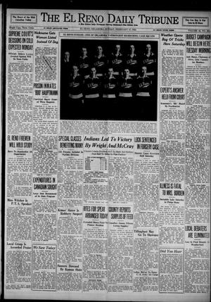 Primary view of object titled 'The El Reno Daily Tribune (El Reno, Okla.), Vol. 43, No. 261, Ed. 1 Sunday, February 17, 1935'.