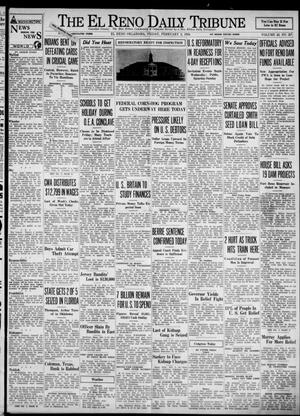 Primary view of object titled 'The El Reno Daily Tribune (El Reno, Okla.), Vol. 42, No. 287, Ed. 1 Friday, February 2, 1934'.