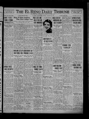 Primary view of object titled 'The El Reno Daily Tribune (El Reno, Okla.), Vol. 46, No. 151, Ed. 1 Sunday, August 29, 1937'.