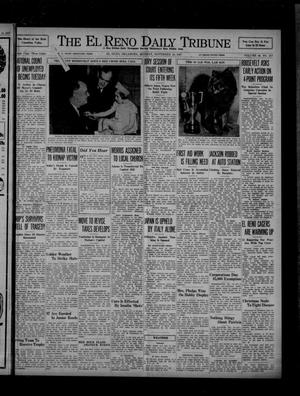 Primary view of object titled 'The El Reno Daily Tribune (El Reno, Okla.), Vol. 46, No. 217, Ed. 1 Monday, November 15, 1937'.