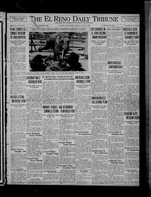 Primary view of object titled 'The El Reno Daily Tribune (El Reno, Okla.), Vol. 45, No. 100, Ed. 1 Friday, June 26, 1936'.