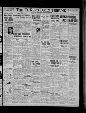 Primary view of object titled 'The El Reno Daily Tribune (El Reno, Okla.), Vol. 44, No. 270, Ed. 1 Monday, January 13, 1936'.