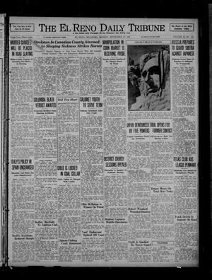 Primary view of object titled 'The El Reno Daily Tribune (El Reno, Okla.), Vol. 46, No. 175, Ed. 1 Monday, September 27, 1937'.