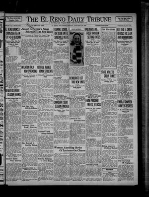 Primary view of object titled 'The El Reno Daily Tribune (El Reno, Okla.), Vol. 44, No. 281, Ed. 1 Sunday, January 26, 1936'.